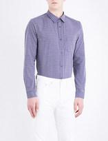A.P.C. Trek checked regular-fit cotton shirt
