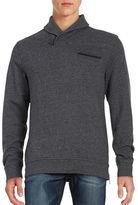 Black Brown 1826 Shawl Collar Sweater