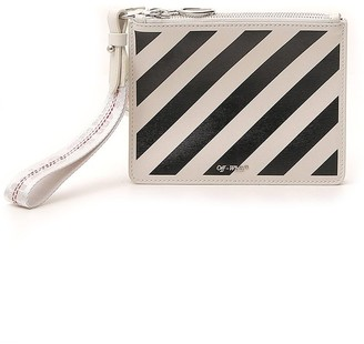 Off-White Stripes Pouch