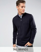 Ted Baker Tall Funnel Neck Sweat