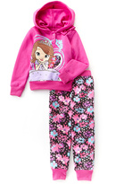 Children's Apparel Network Sofia the First Hoodie & Sweatpants - Toddler & Girls