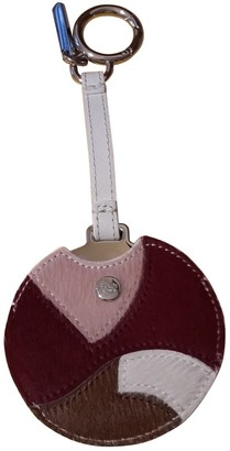 Fendi Multicolour Leather Bag charms