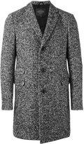 Tod's herringbone coat - men - Polyester/Spandex/Elastane/Viscose/Virgin Wool - XL