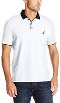 Nautica Men's Slim-Fit Layered-Collar Polo Shirt