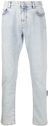 Off-White Diagonals skinny-fit jeans
