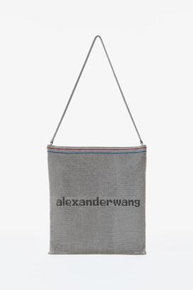 Alexander Wang Wangloc Rhinestone Gallon Pouch