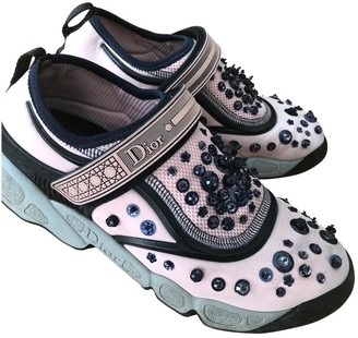 Christian Dior Fusion Pink Cloth Trainers