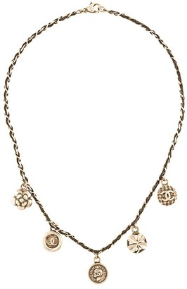 Chanel Pre Owned Medallion Motifs Necklace