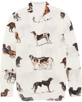 Stella McCartney Printed Silk Shirt - Ivory