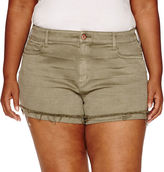 Arizona Cotton Chino Shorts-Juniors Plus