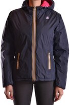 K-Way Women's Blue Polyamide Down Jacket.