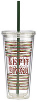 Lenox Holiday Let it Snow Tumbler with Straw