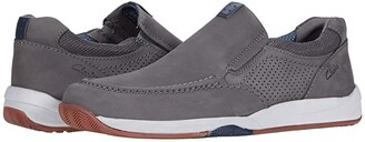 Clarks Langton Step (Grey Nubuck) Men's Shoes