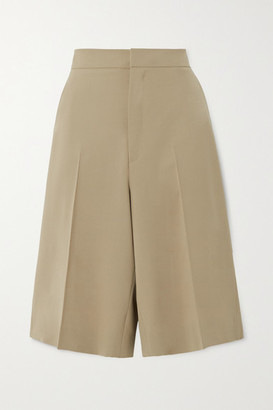 GAUCHERE Praline Wool-blend Shorts - Beige