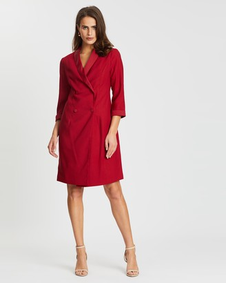 Dorothy Perkins Tuxedo Style Dress