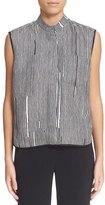 Carven Stripe Silk Shirt