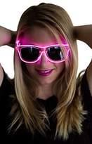Neon Nightlife Frame/Slightly Tinted Lens Wayfarer 55mm Light Up Glasses