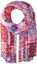 Bindya Floral and Paisley Mix Scarf Scarves