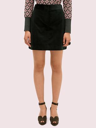 Kate Spade Modern Cord Mini Skirt