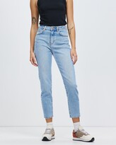Thumbnail for your product : Neuw Women's Blue High-Waisted - Lola Mom Jeans - Size 24 at The Iconic