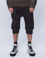 Helmut Lang Cropped Sweatpants