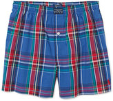 Ralph Lauren Plaid Cotton Boxer