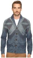 Lucky Brand Indigo Novelty Pullover