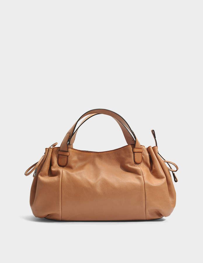 Gerard Darel 24 GD Bag in Caramel Leather