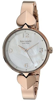 Kate Spade Hollis Stainless Steel Bangle Watch - KSW1561 (Rose Gold) Watches