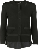 Moncler Layered Cardigan