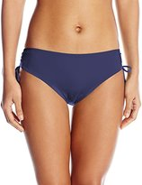 Calvin Klein Women's Side Shirred Hipster Bikini Bottom