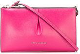Marc Jacobs logo zip crossbody bag - women - Calf Leather - One Size