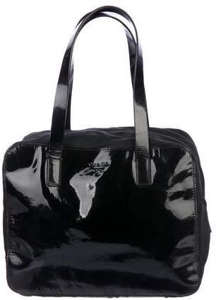 Prada Nylon-Trimmed Handle bag
