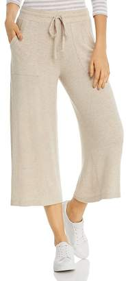Three Dots Wide-Leg Drawstring Sweatpants