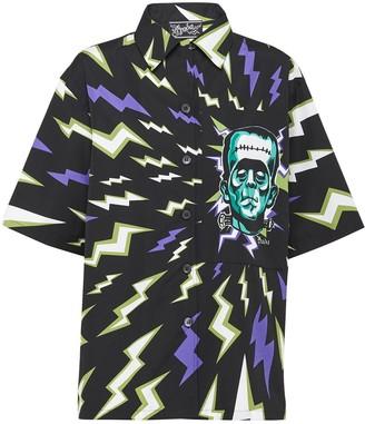 Prada Frankenstein lightning bolt shirt