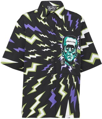 Prada Frankenstein lightning bolt shirt