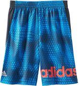 adidas Boys 4-7x climalite Geometric Snakeskin Shorts