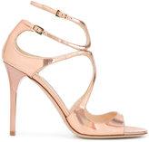 Jimmy Choo 'Lance' sandals - women - Leather/rubber - 39