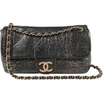 Chanel \N Metallic Leather Handbags