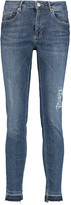 Zoe Karssen The End distressed mid-rise skinny jeans