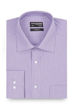 The Collection Lilac Fine Striped Long Sleeved Shirt