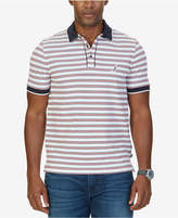 Nautica Men's Big & Tall Classic-Fit Striped Polo