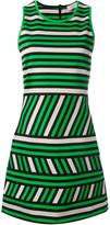 Lanvin striped pattern dress - women - Cotton/Polyamide/Spandex/Elastane - 36