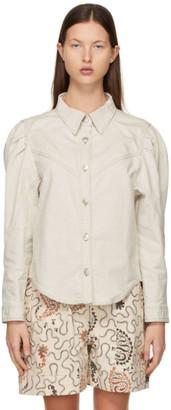 Etoile Isabel Marant Beige Leona Shirt