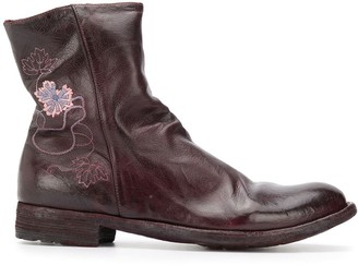 Officine Creative Lexikon 110 embroidered boots