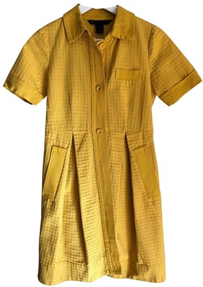 Marc by Marc Jacobs Yellow Cotton Dresses