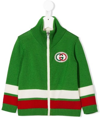 Gucci Kids Interlocking G Torchon cardigan