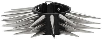 Charles Jeffrey Loverboy Black Spikey Studded Cuff Bracelet