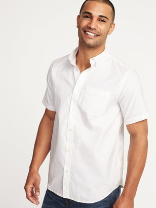 Old Navy Clean-Slate Everyday Oxford Short-Sleeve Shirt for Men