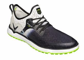 Callaway Men's Apex Lite Lightweight Spikeless Golf Shoes Black/Grey 6 (39 EU)